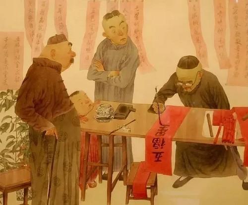 干货︱猪年春节对联集锦,对联印刷
