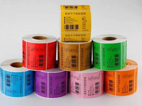不干胶标签印刷加工工艺流程